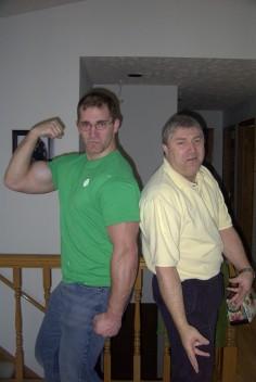 Nathan and His Dad Tony