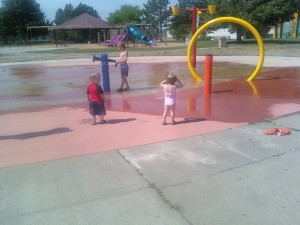 Splash Pad Fun